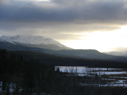 And so winter has arrived in Yukon