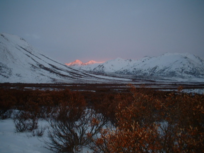 Cam Kirkpatrick photo - Early morning on the Dempster Highway