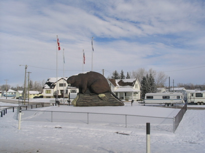 The Largest Beaver in the world at Beaverlodge, BC