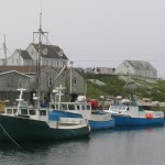 Tall ships give way to Peggy's Cove