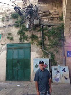 In Nazareth, no electrical code here!