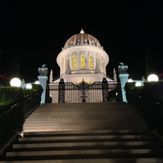 The Shrine at Night