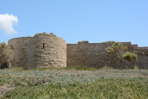Crusader Castle wall