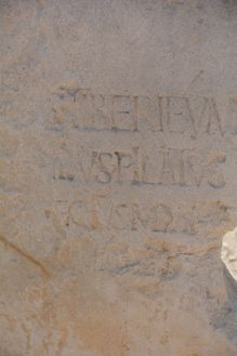 Inscription from the past desribed below