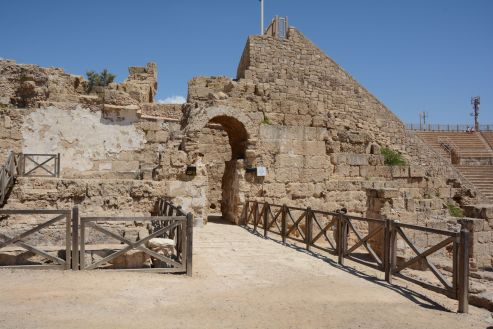 Entrance to the Amphitheatre