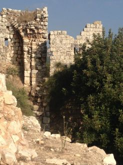 Some part of the ruin